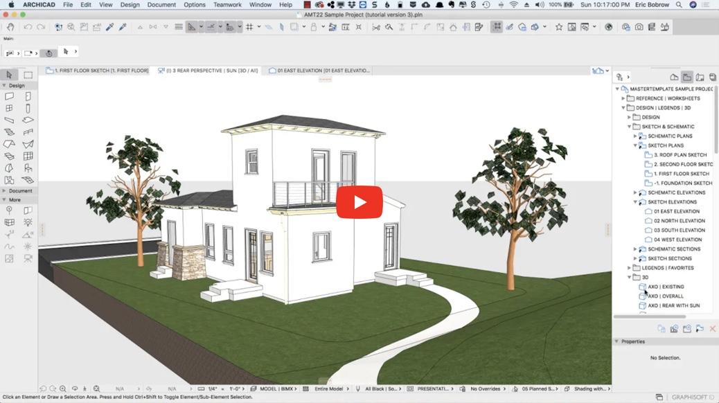 ARCHICAD Design   Views 3 – Lighting Tricks & Surface